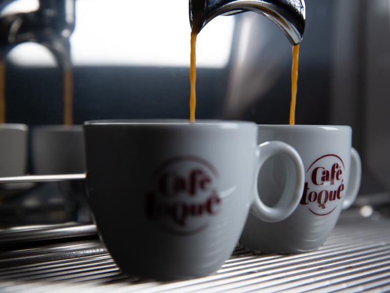Extraction de deux espressos